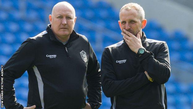 Russell Slade and Paul Trollope