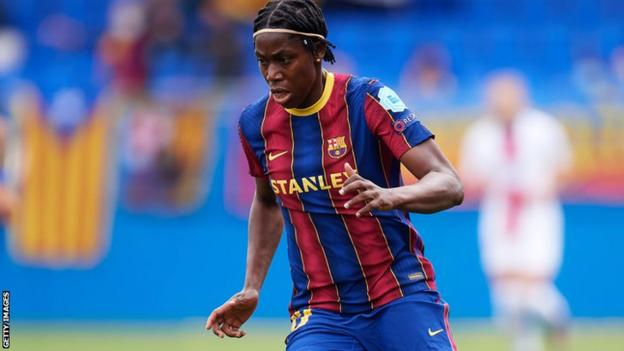 Nigeria and Barcelona's Asisat Oshoala