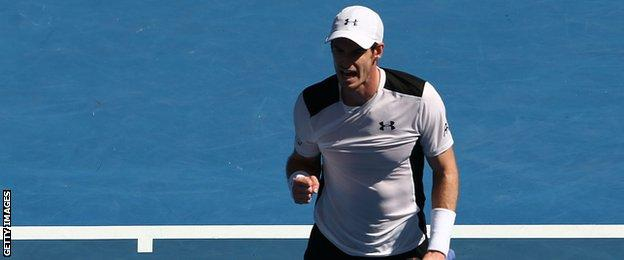 Andy Murray has breezed through the first two rounds