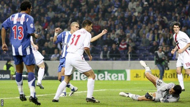 Porto v Rangers