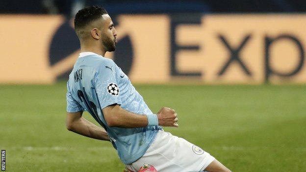Paris St-Germain 1-2 Man City: Kevin de Bruyne & Riyad Mahrez give City advantage in Champions League thumbnail