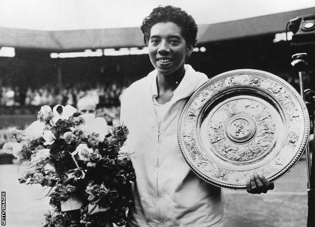Althea Gibson: The pioneering champion America forgot - BBC Sport