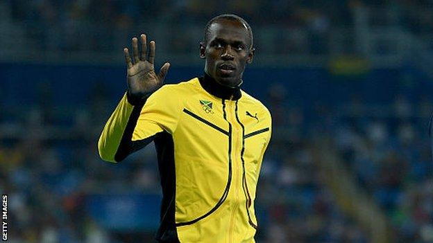 Man united news  football news  football transfer and rumours Usain Bolt