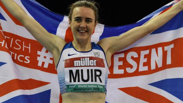 Laura Muir: Scot breaks 31-year-old mile record by more than five seconds thumbnail