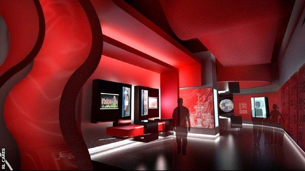 National Rugby League Museum proposed look