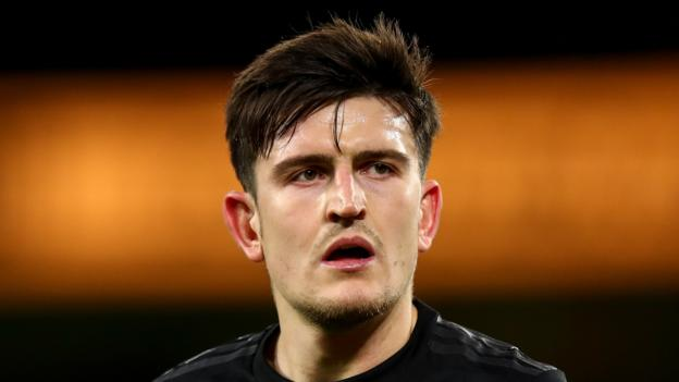 Harry Maguire: Man Utd defender ruled out with hip injury thumbnail