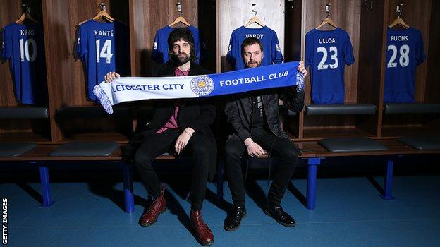 Serge Pizzorno and Tom Meighan from Kasbian
