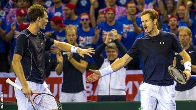Tennis Scotland are looking to build on the success of the Murray brothers