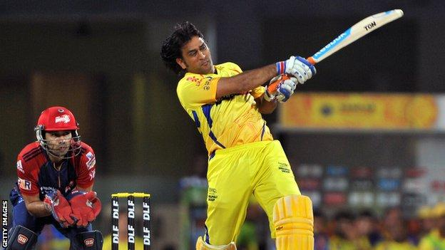MS Dhoni has scored almost 3,000 runs in the IPL since 2008