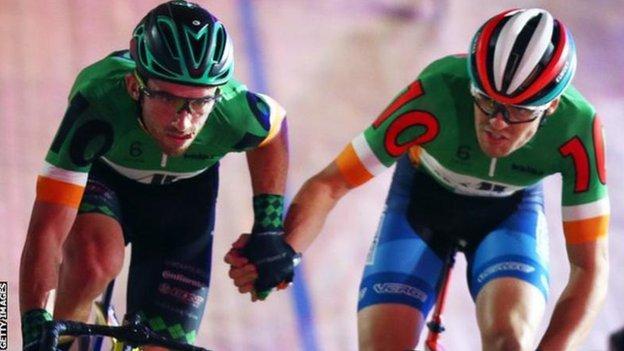 Felix English and Mark Downey