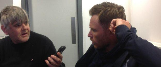 Ian Bell interviewed by BBC Coventry & Warwickshire's Clive Eakin