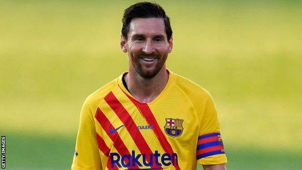 Lionel Messi Top Of Forbes Money List In 2020 Cristiano Ronaldo Second Bbc Sport