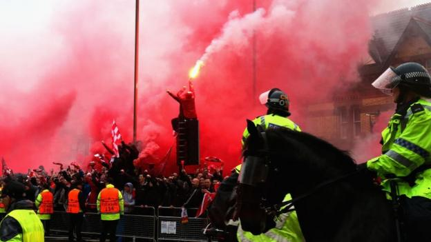 101110211 gettyimages 950781498 - Roma v Liverpool: Police'can guarantee fans' safety' within the event that they place within principles