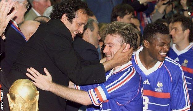 France's Didier Deschamps