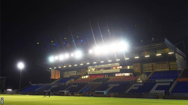 Caledonain stadium