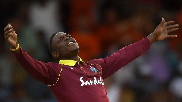 West Indies v Ireland: Hosts edge Barbados thriller to win series thumbnail