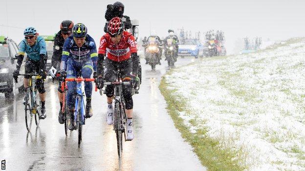 Tour de Romandie stage two