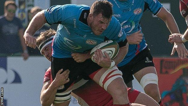 Nick Campbell in previous match