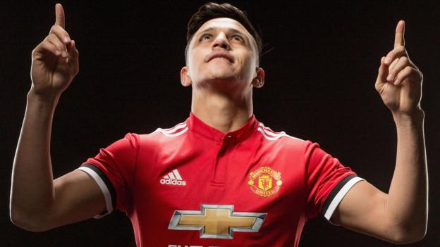 3177f73dfe2 Alexis Sanchez  Arsenal forward joins Man Utd in swap with Henrikh  Mkhitaryan - BBC Sport