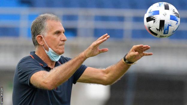 Portuguese coach Carlos Queiroz