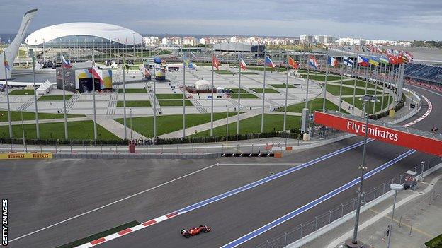 The Russian GP