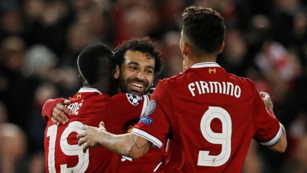 Liverpool 5 2 roma bbc sport - Bbc football league 1 table ...