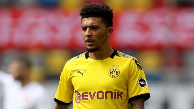 Sunday's soccer gossip: Dortmund assured of holding Sancho thumbnail
