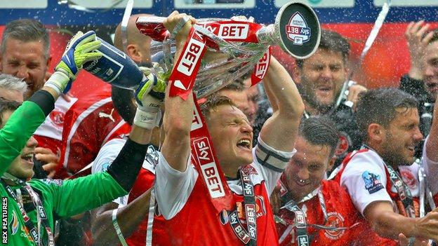League One Play Offs Wembley To Stage Final On 13 July As Dates Are Confirmed Bbc Sport