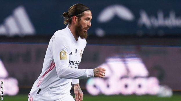 Real Madrid'den Sergio Ramos