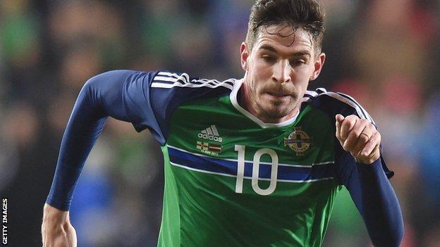 Northern Ireland's Kyle Lafferty