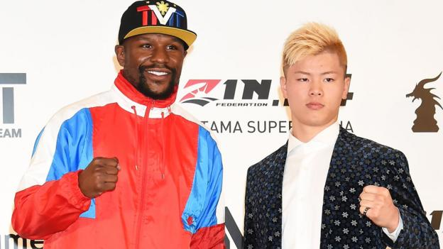 Floyd Mayweather: Boxer to fight kickboxer Tenshin Nasukawa in Japan