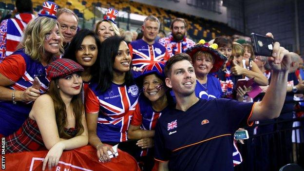 Cameron Norrie and British fans