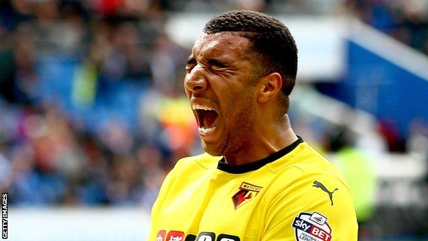 En 2015, Watford anotó 21 goles para regresar a su Premier League