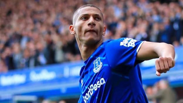 Everton 3-2 Wolverhampton Wanderers: Richarlison double give Goodison Park side victory
