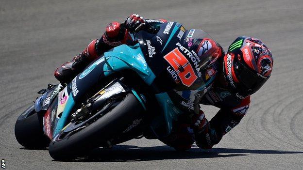 Motogp Fabio Quartararo Makes It Back To Back Wins With Victory In Jerez Bbc Sport