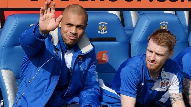 Josh Magennis and Steven Smith