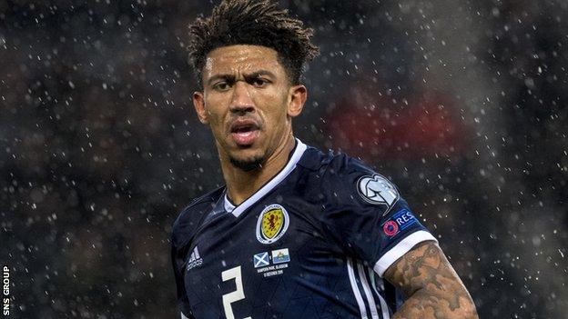 Scotland defender Liam Palmer