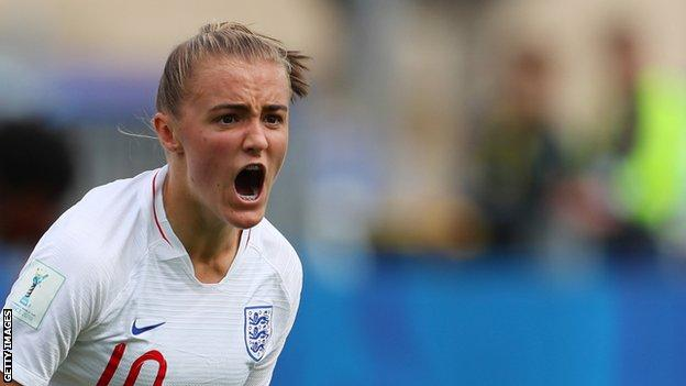 Georgia Stanway has played at under-15, under-17, under-19 and under-20 level for England