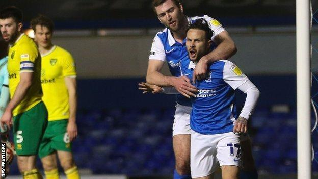 August window signing Ivan Sanchez scrambled in only his second goal for Birmingham City in 32 appearances