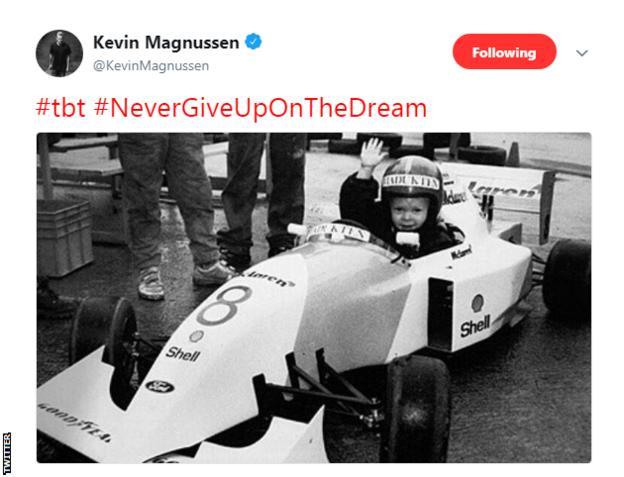 Kevin Magnussen Twitter