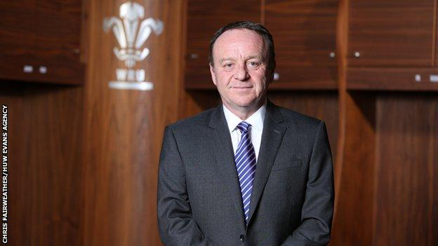 Steve Phillips has worked at the Welsh Rugby Union since 2007 and replaced Martyn Phillips as chief executive