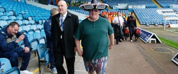 Rotherham manager Steve Evans