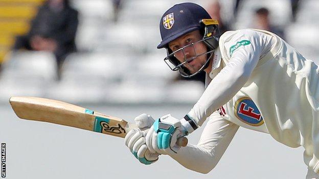 Cameron Bancroft batting for Durham