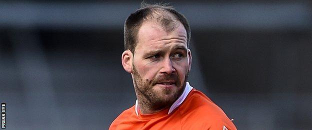 Armagh captain Ciaran McKeever
