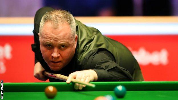 Snooker player John Higgins