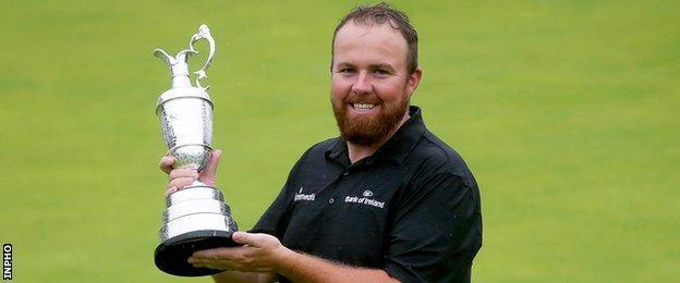 Open champion Shane Lowry