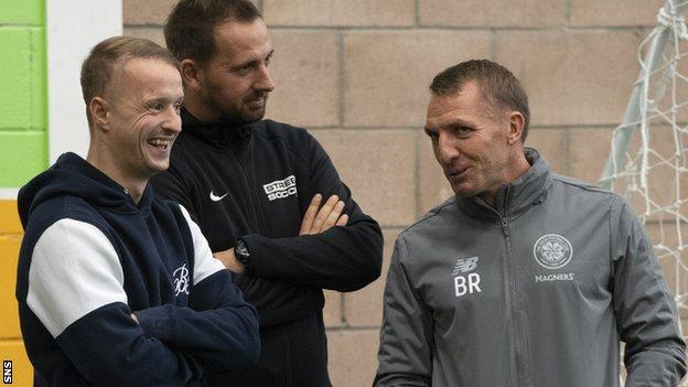 Brendan Rodgers, Leigh Griffiths, David Duke
