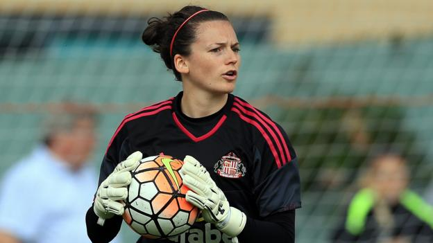 Cycling Laws Uk >> Rachel Laws: Durham Women sign England goalkeeper for WSL Spring Series - BBC Sport
