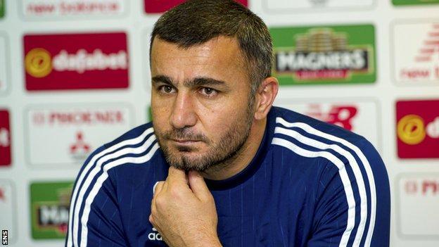 Qarabag head coach Gurban Gurbanov