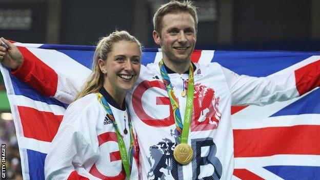 Laura and Jason Kenny won five gold medals between them at Rio 2016
